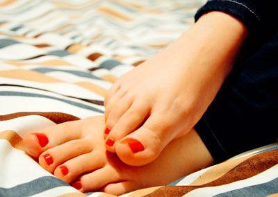 Soins pour les pieds